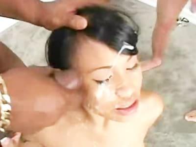 thai cumshot compilation
