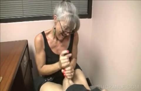 Cum hand job suck
