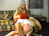 Men in panties spanked