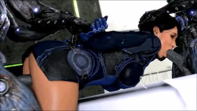 And miranda Mass effect anal porn ashley