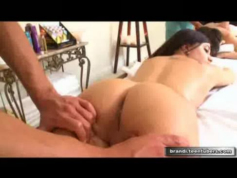 ball gagged bdsm subs pussy stimulated