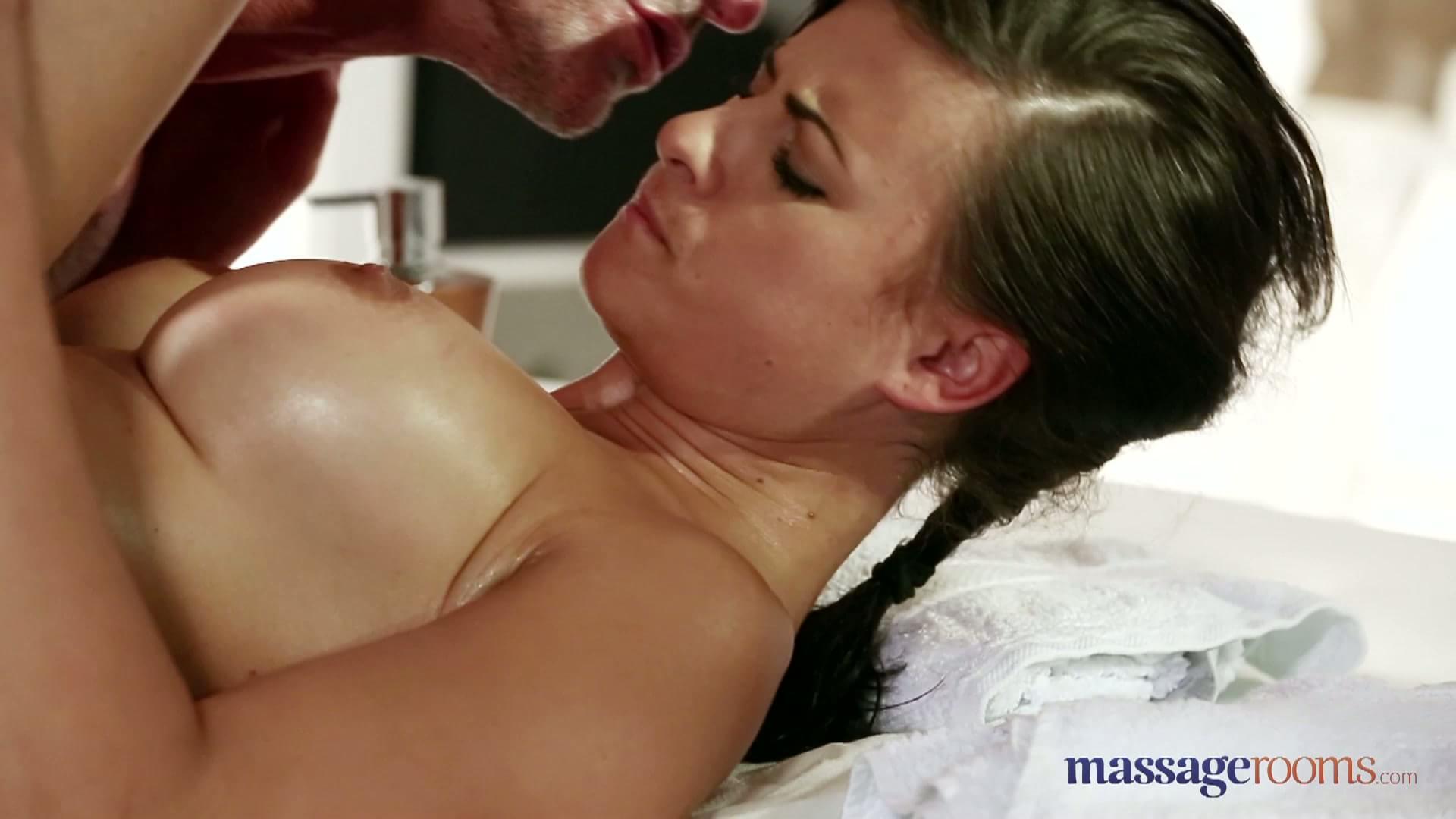 Massage fucks with milf