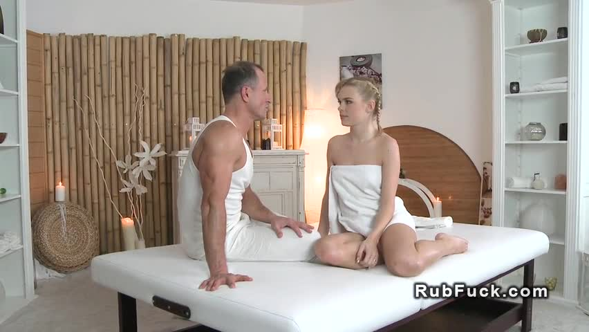 nuru massage blonde bbw