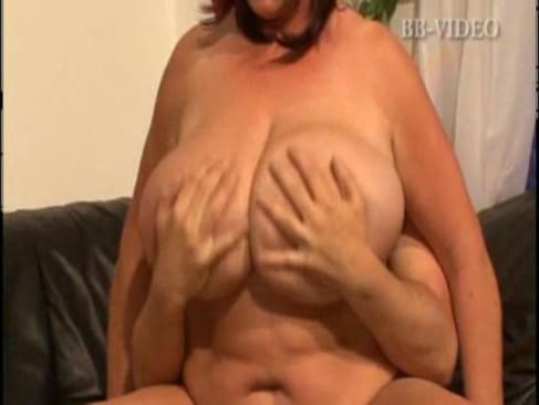 Massive Breasted German Mature