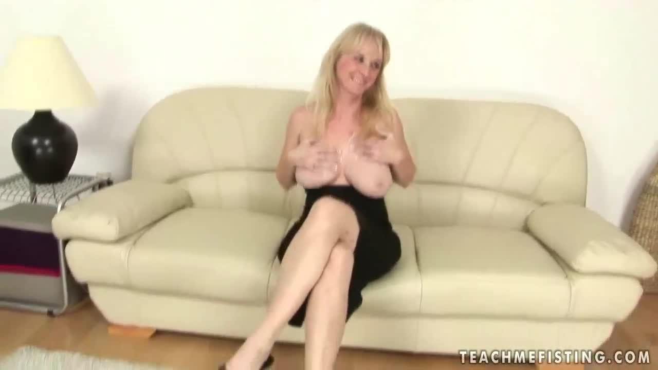 matures anal Blonde