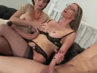 Mature ffm threesome porn consider, that