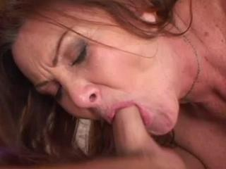Words... super, cock in mature mouth can