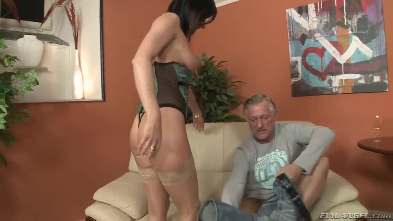 Mature seducing younger