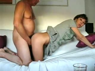 Mature homemade anal tube