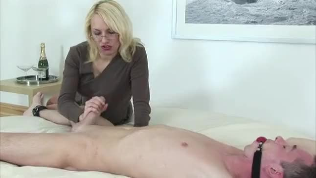 you busty blonde milf facial blowjob pov think, what