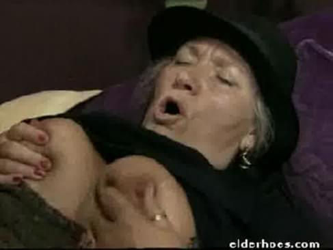 Mature granny in hardcore sex action. This man was a regular client of sexy ...