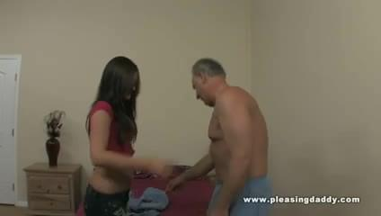 Mature guy fucks his dream girl