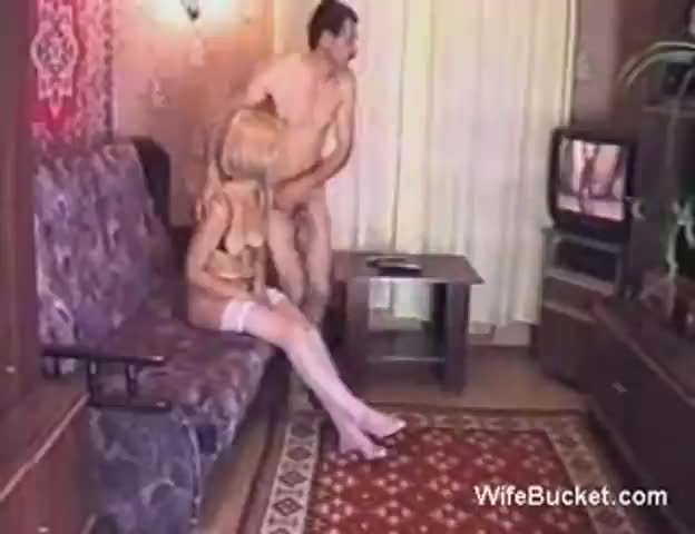 naked woman jerking off man