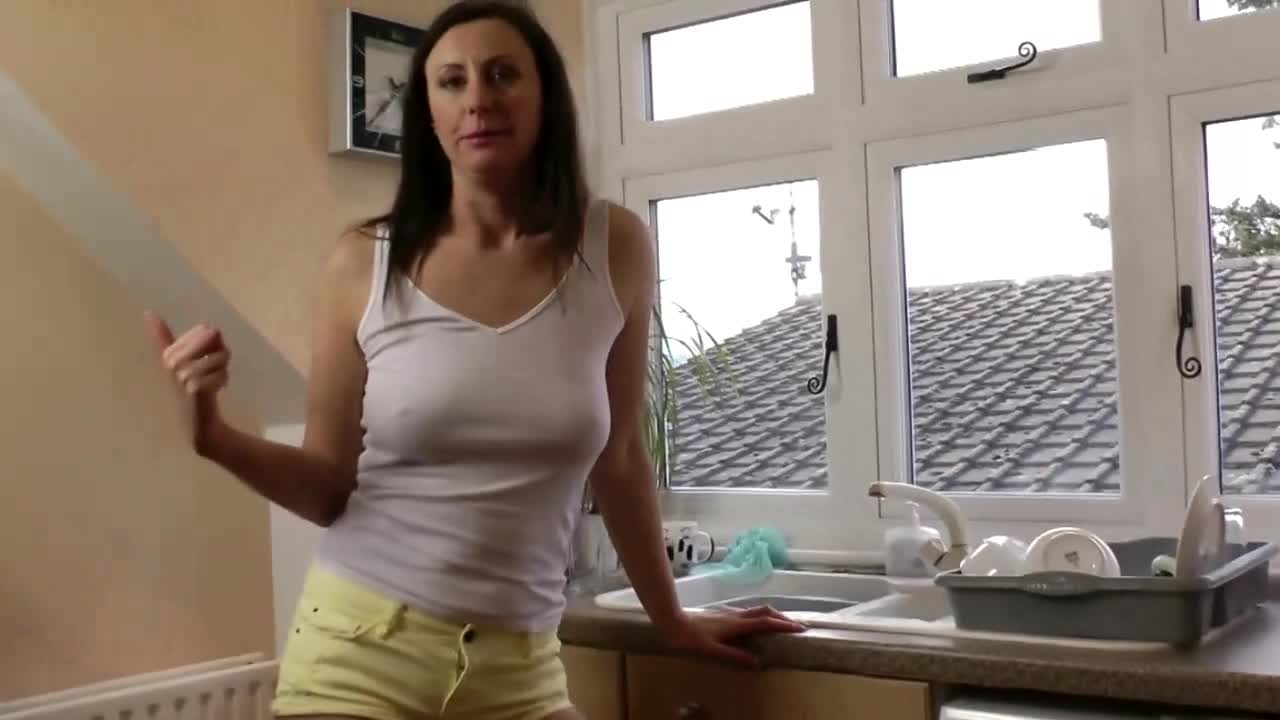 Granny deepthroat with cum