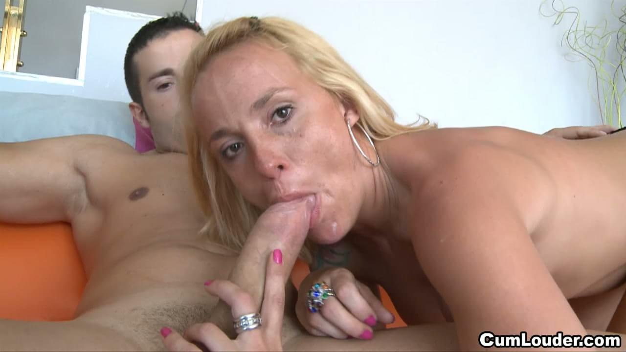 Cum mature women sucking