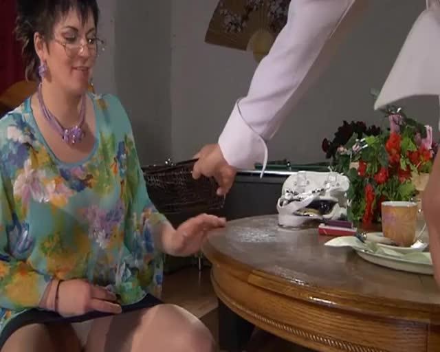 lesbian waitress seduction