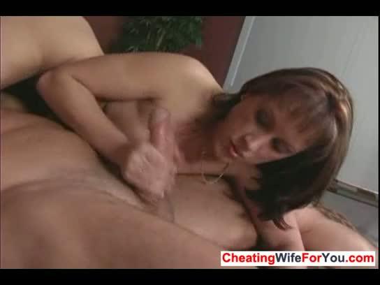 Hot wife sensual interracial