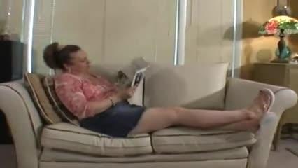 Mature mistress foot slave