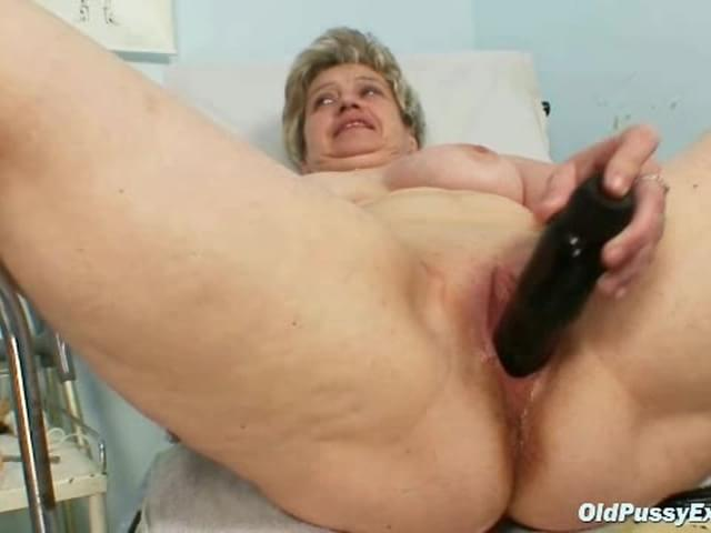 Slut! mature gyno visit love
