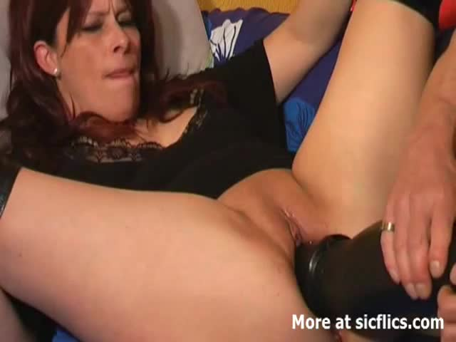 Mature double pussy