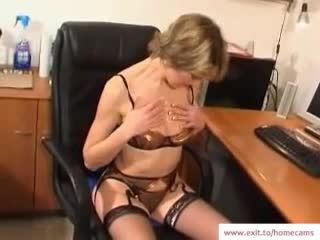 mature stella in her homemade masturbation movie Librarian anal sex. Lenght 25 min.