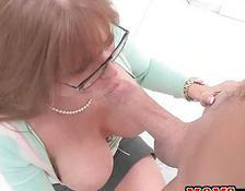 stepmom seduces boy Mature