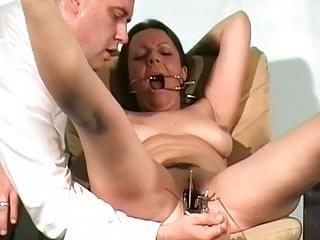 Filthy shaz medical lesbian fetish and doctors electro bdsm of nipple 2