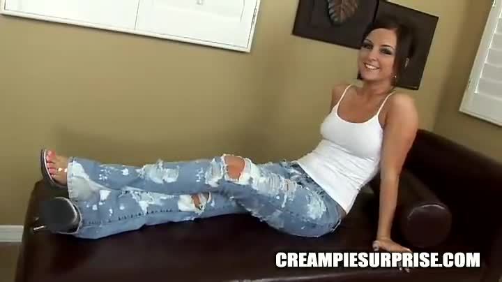 Creampie Surprise Tube 106