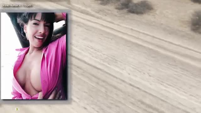 Mercedes carrera road head drone hunter 9