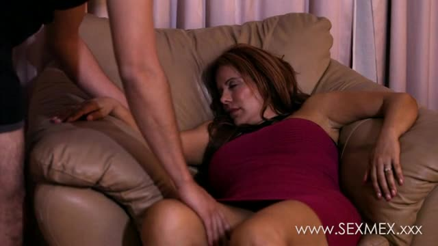 Super step mama blondie fesser caught by son 1