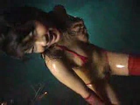 Micro bikini oily dance -- minaki saotome