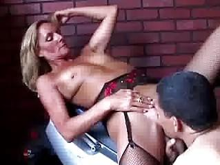Milf with small tits gets fucked