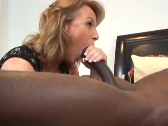 Milf in fishnets loves the bbc