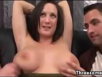 Talked into threesome