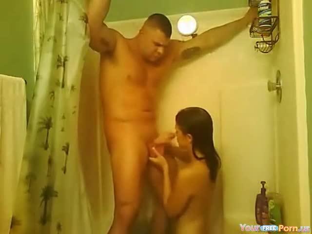 Wife first blow job video