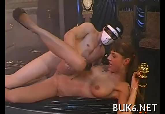 Noel anal milkmaid in heels - 1 7