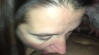 Hairy woman shower wet