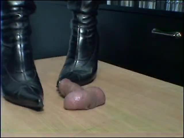 riding boots trample