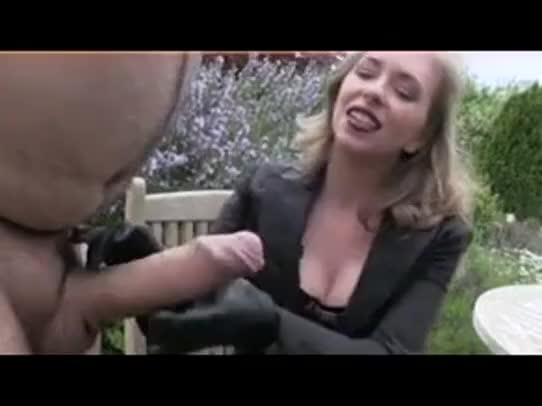 She likes to hear him cry while stroking 7