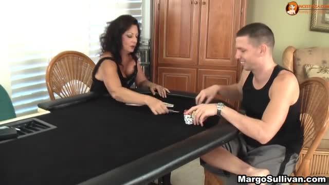 with Strip mom poker