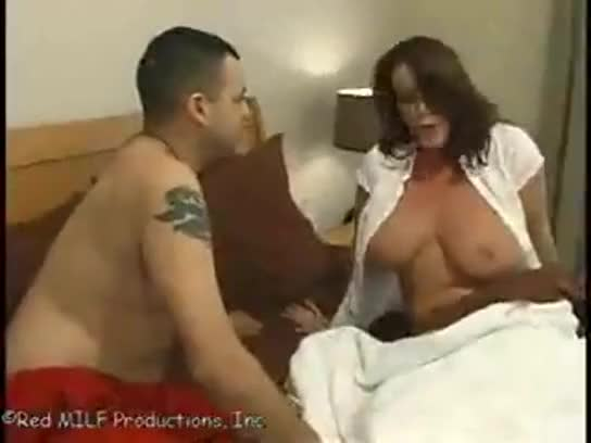 Mom Gives Son Pussy