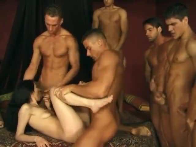 Asian Guy Massage White