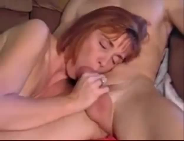 Blowjob From My Mom