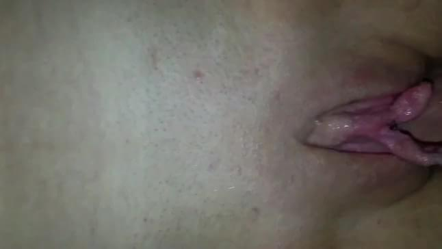 Pretty pussy orgasm closeup with contractions xxxbunker