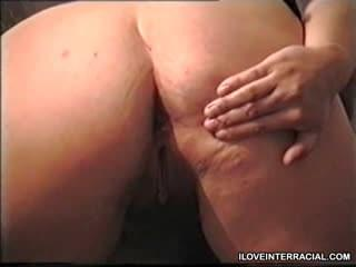 Bbw asian mom Spread her pussy