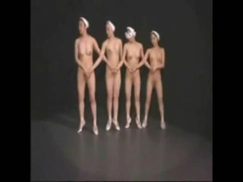 Naked nude dance dancers asian white sexy cute pussy ass ballet girl girls