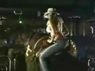 Nude on mechanical bull mistaken. recommend
