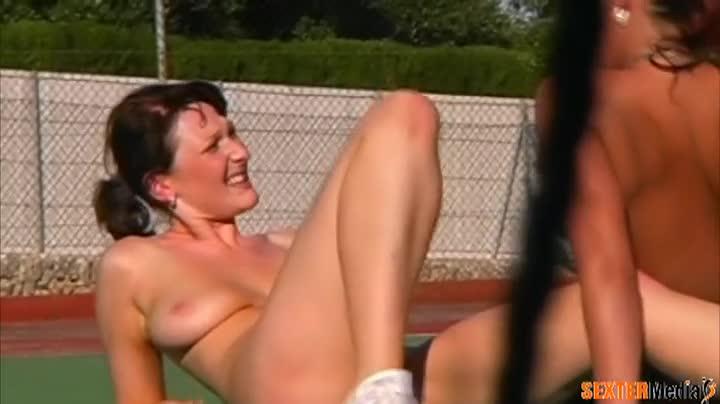 Outdoor lesbian sex chair
