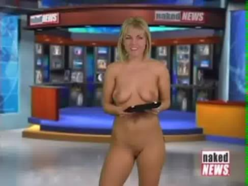 News reporter gets naked
