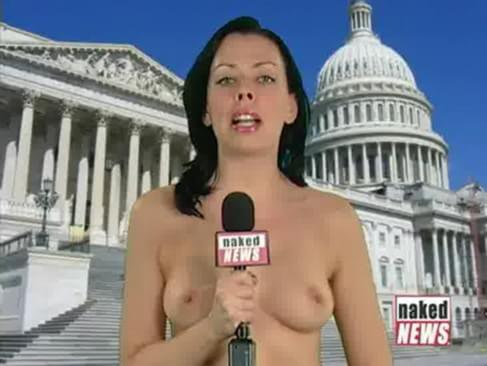 Naked News Victoria Sinclair No Bra Decides